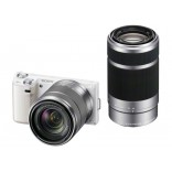 16.1 Mega Pixel Camera with SEL1855 & SEL55210 Lens -NEX-5NY/W