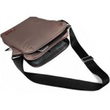 Promate QUIRE Compact Messenger Case Bag for Tablets with Interior Bubble Pad Protector - BROWN