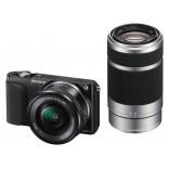 16.1 Mega Pixel Camera Body (Black) with SELP1650 & SEL55210 Lens