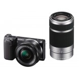 16.1 Mega Pixel Camera Body (Black) with SELP1650 and SEL55210 lens