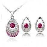 Tear Drop Women Jewelry set
