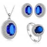 Gift Women Jewelry Women Necklace earrings and Rings Size 7